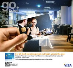VISA Go Dubai campaign by Giuseppe Parisi, via Behance