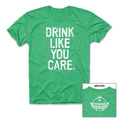 In honor of our Minnesota Local Brew store grand opening at the Ridgedale Center on Friday, our Monday Merch pick is this Finnegans Drink Like You Care Tee.  Get on board the Finnegans DLYC campaign in this classic tee. Made of an ultra soft cotton blend, this tee looks good and DOES good. Through the end of 2013, $3 from the purchase of this tee will go to the Finnegans Community Fund.