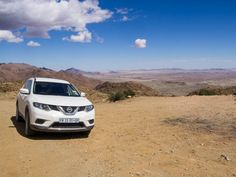 Our Nissan X-Trail SUV, one of our biggest Namibia travel expenses
