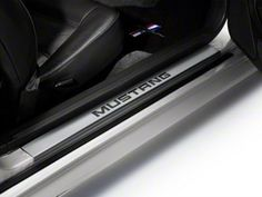 Modern Billet Mustang Stainless Steel Door Sill Plates - Mustang 22051 All) Sn95 Mustang, New Edge Mustang, Mustang Logo, Interior Trim, Interior Styling, Mustang Accessories, Mustang Interior, 2019 Ford Explorer, Suv Comparison