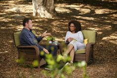 Oprah Winfrey speaks with life strategist Tony Robbins