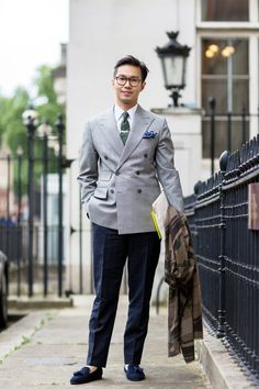 The 21 Most Fashionable Fellas In London #refinery29  http://www.refinery29.com/london-mens-fashion#slide20  The navy, tasseled brogues just speak to us.