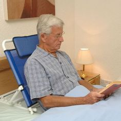 NRS Bed Back Rest Adjustable Angle, Mobility Disability Support Aid 5038948982299 Bed Backrest, Steel Bed Frame, Folding Beds, Sitting Positions, Hammock Chair, Small Pillows, Senior Living, Diy Bed, Disability