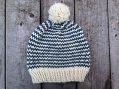Pattern I can use for hats for the homeless: Maker Monday Hat (free pattern!)