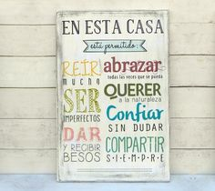 Beautiful Words, Ideas Para, Hand Lettering, Decoupage, Diy And Crafts, Projects To Try, Wood Projects, Sweet Home, Room Decor