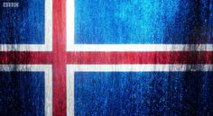 Eurovision Song Contest 2014 Iceland flag art