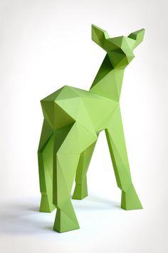 Alle Bastelsets für Tierskulpturen aus Papier von LIEBESREH in deiner Wunschfarbe bei uns im SHOP.