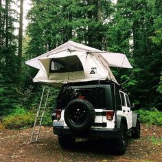 Mini Oregon road trip. Elevated camping at Lost Lake.
