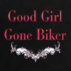 "Actually becoming a biker probably made me a ""good girl"" Or it could be I am just more cautious in my old age! Old school vintage styled biker tattoos Art Harley Davidson, Davidson Bike, Harley Davidson Motorcycles, Triumph Motorcycles, Custom Motorcycles, Bike Quotes, Motorcycle Quotes, Biker Love, Biker Style"