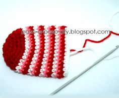 como tejer calcetin crochet: pie Crochet Diy, Baby Booties, Booty, Knitting, Handmade, Jewelry, Socks, Disney, Christmas