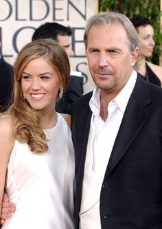 Kevin Costner and daughter