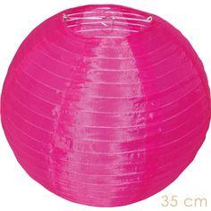 prachtige roze nylon lampion voor buiten Candlebagplaza