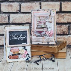 CraftHobby Oliwiaen: Thank You Teacher Cards / Kartki dla nauczycieli Teacher Cards, Your Teacher, Scrapbook Pages, Scrapbooking, Paper Cards, Diy, Tags, Layers, Inspirational