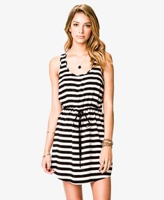 Striped Racerback Dress | FOREVER21 - 2011408460