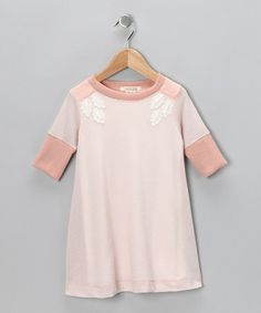 Take a look at this Blush Sprout Dress - Toddler by Cavelle Kids on #zulily today! $24.99