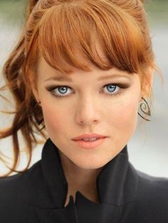 Blue eyes and red hair                                                                                                                                                      More