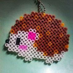 Hedgehog hama beads by jey.tun