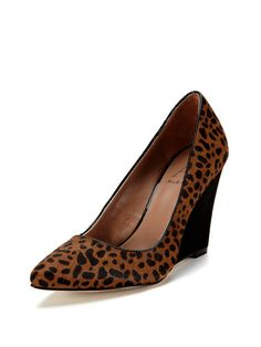 Alana Pointed-Toe Wedge Pump by Ava & Aiden at Gilt