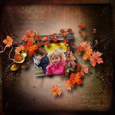 Autumn Fairy-tale kit by Lara´s Digi World Scrap Kits   Scrapbookbooking Kits