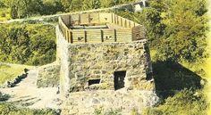 Blockhouse near Pretoria - Postcard Fortification, Industrial Revolution, Brickwork, Afrikaans, African History, Log Homes, Warfare, Zombies, South Africa