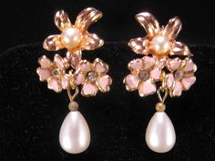 Reclaimed Vintage Earrings Bridesmaid Gift by JenniferJonesJewelry, $22.50