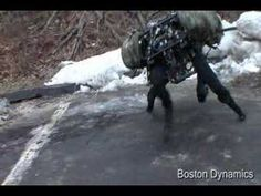 Boston Dynamics Big Dog (new video March Big Dogs, Large Dogs, Boston Dynamics, Real Robots, Joining The Military, Primitive Technology, Dog Rooms, Dog Logo, Maltese Dogs