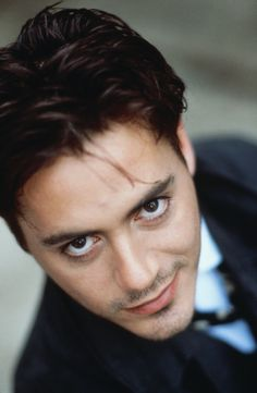 Robert Downey Jr. Young. I stayed his fan all through his ups and down. He was so damn beautiful and talented and messed up.  I prayed many times for him and worried he wouldnt make it. So when i see him now I rejoice a little in his victory. I am so glad he made it and seems happy. He is more handsome now at 48 that at 20, but he has always been beautiful.