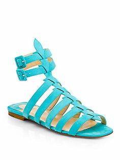 Christian Louboutin Neronna Nubuck Leather Sandals