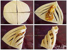 Muffins au remplissage de poire