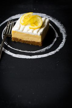 Lemon Cream Pie Bars - these melt in your mouth! A must try recipe!