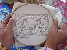 Making a Miniature Punch Needle Rug - 1