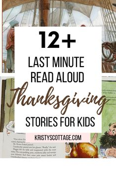 12+ Last Minute Read Aloud Thanksgiving Stories for Kids