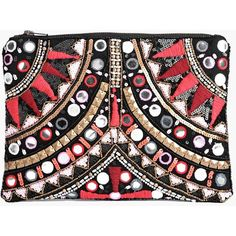 Boohoo Boutique Boutique Leah Embellished Statement Clutch Bag found on Polyvore featuring bags, handbags, clutches, accessories, malas, purses, pink, evening handbags, envelope clutch and purse backpack
