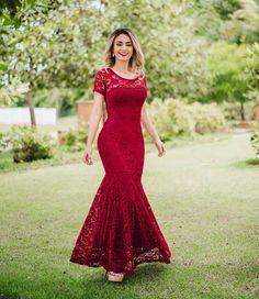 Elegant Dresses, Vintage Dresses, Formal Dresses, Formal Wedding Attire, Floral Lehenga, Dress Brokat, Prom Dresses 2018, Frocks, Glamour