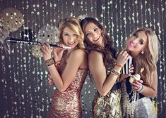 A New Years Eve inspired Senior Model shoot from Teri Fode Photography!
