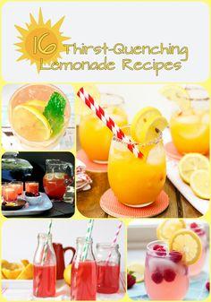 16 Thirst-Quenching Lemonade Recipes