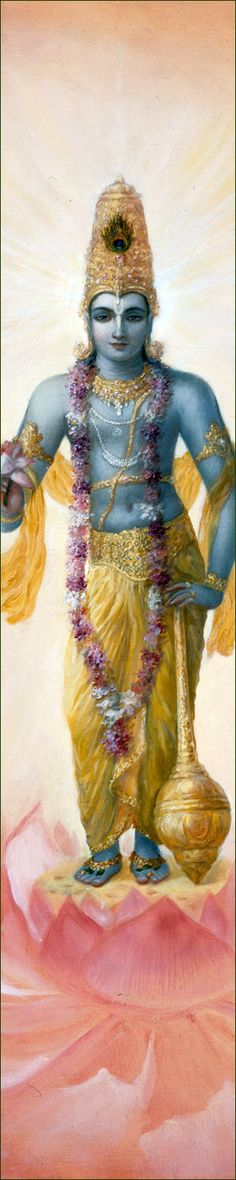 """Paramatma, or Paramatman, the """"Primordial Self"""" or the """"Self Beyond"""" who is spiritually practically identical with the Absolute, identical with Brahman. Selflessness is the attribute of Paramatman, where all personality/individuality vanishes. Krishna Lila, Cute Krishna, Radha Krishna Love, Radhe Krishna, Radha Krishna Images, Lord Krishna Images, Krishna Pictures, Bhagavad Gita, Krishna Avatar"""
