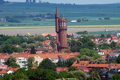 The old water tower in Landskrona,Sweden