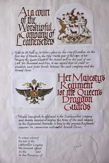 I am doing my heraldry backwards! By that I mean I have just started a CLAS Certificate of Skillscoursein Heraldic Arts, with the hugely ...
