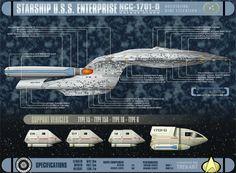 Schematics Enterprise D.