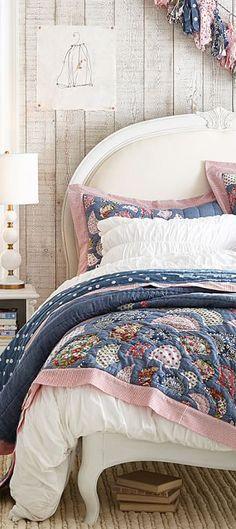 Girls Rustic Bedding