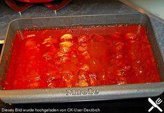 Schaschliksoße wie auf dem Jahrmarkt, dazu noch eine halbe Tube Tomatenmarkt, Schaschlik aus Scheineschnitzelfleisch, Paprika und Zwiebeln und alles im Slowcooker 7 Stunden auf low garen. Chutneys, Crock Pot Slow Cooker, Crockpot, Swiss Recipes, German Recipes, Camping Bbq, Party Finger Foods, Lasagna, Carne
