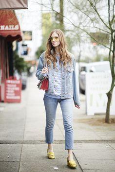 Pin for Later: Diese Jeansjacken sind der beste Begleiter im Sommer Chiara Ferragni