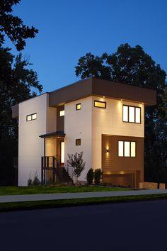 Netmodern Lighting Atlanta : new Modern style home in the Old Fourth Ward neighborhood of Atlanta ...