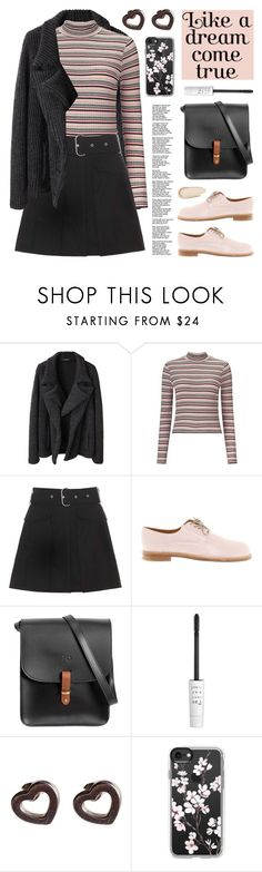 """Like a dream come true"" by deepwinter ❤ liked on Polyvore featuring Limi Feu, Miss Selfridge, Acne Studios, Jil Sander, N'Damus, too cool for school, Tiffany & Co., Casetify and Charlotte Russe"