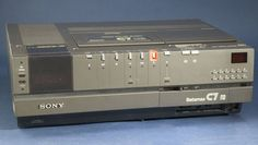 Vídeo formato Betamax (Sony).