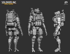 ArtStation - Soldiers Inc. characters, Stanislav Ostrikov