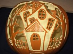 Today I am unleashing before you best cool, creative & scary Halloween pumpkin carving designs & ideas of Pumpkin Carving Pictures, Amazing Pumpkin Carving, Pumpkin Pictures, Pumpkin Carving Patterns, Pumpkin Carvings, Carved Pumpkins, Fröhliches Halloween, Scary Halloween Pumpkins, Victorian Halloween