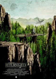 Star Wars Return of the Jedi poster by Mainger