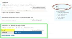 Twitter GeoTargeting - Send test ads to small groups and then send the winning ads to large groups.